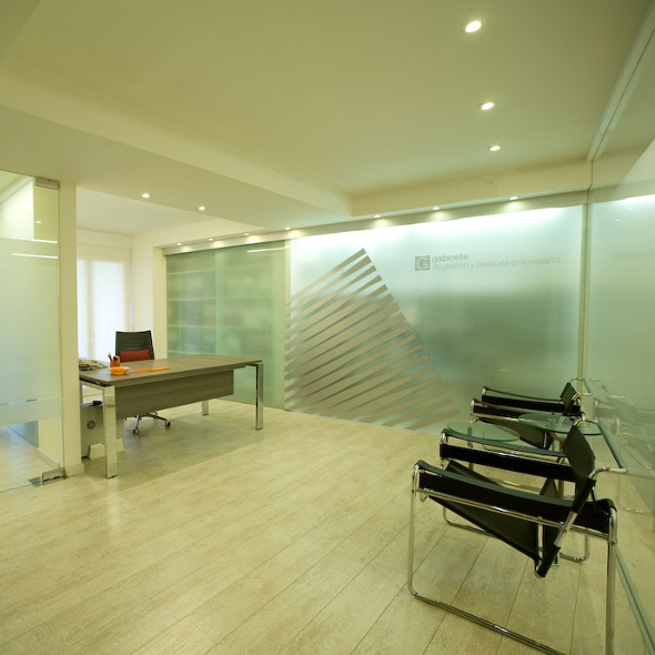 Vestíbulo del Gabinete de gestión y asesoría empresarial